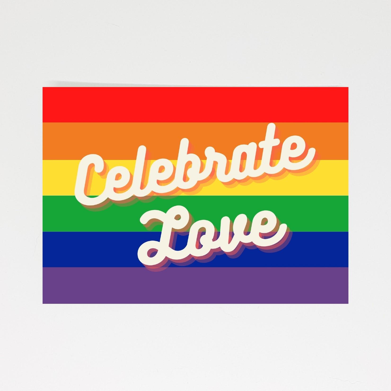 pride kaart celebrate love vier de liefde