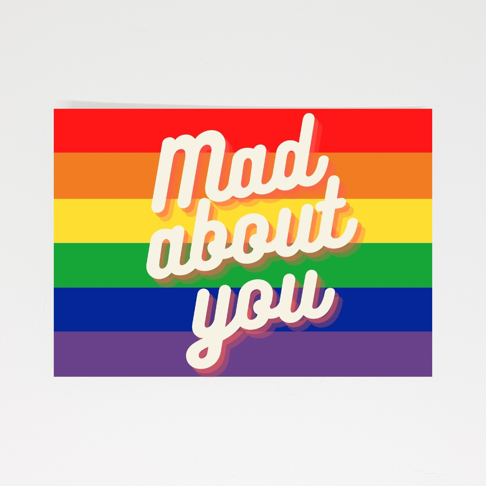pride kaart mad about you