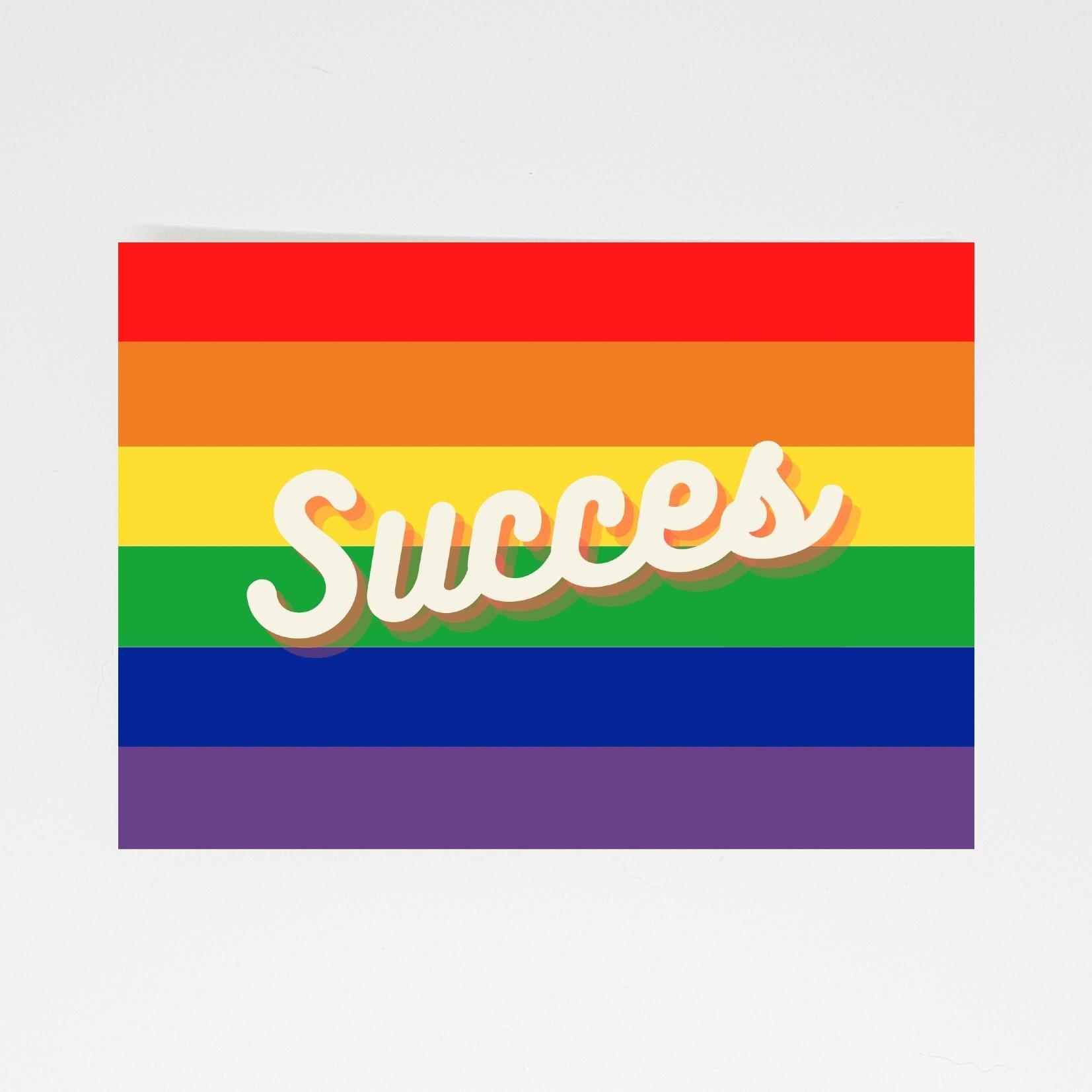 pride kaart succes
