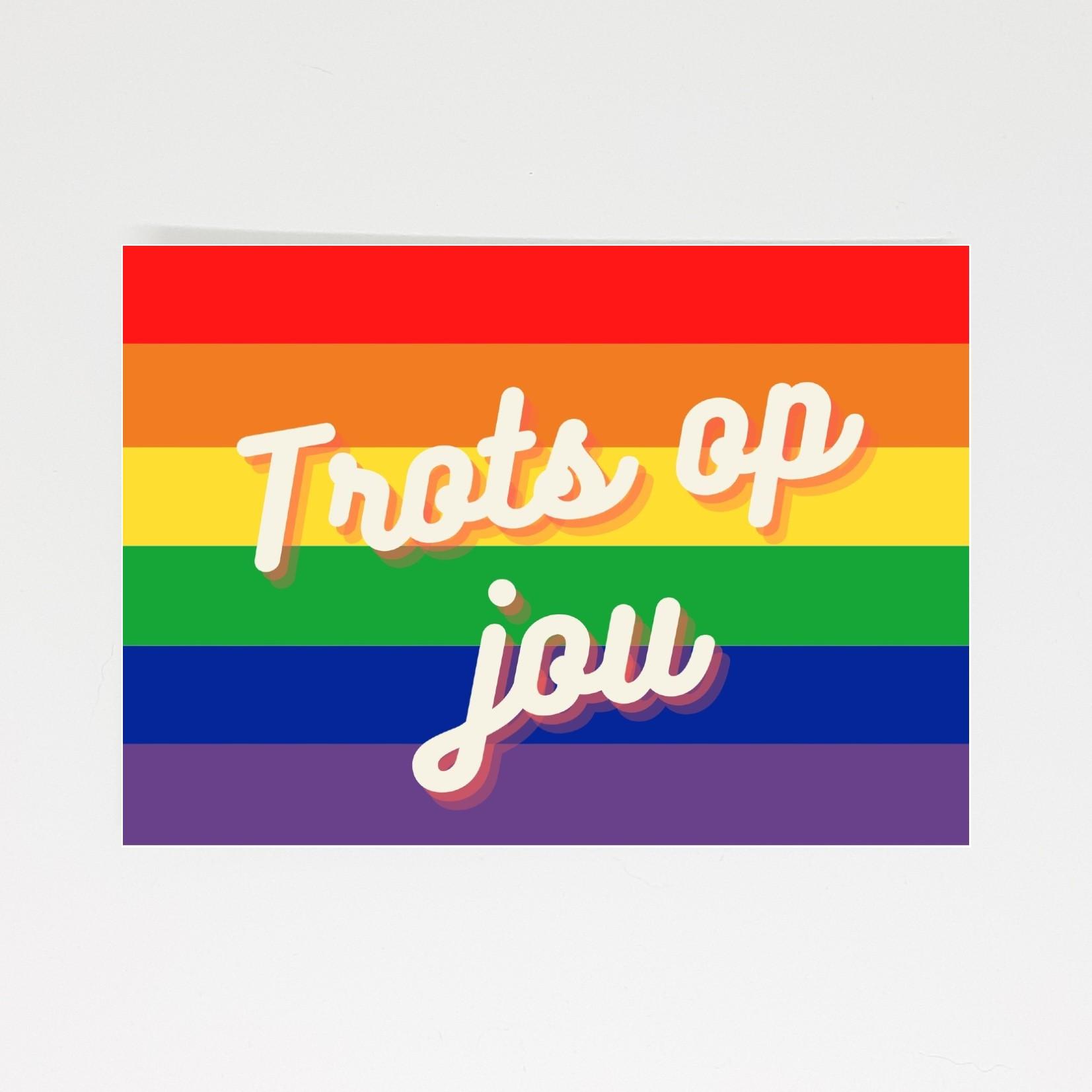 Pride kaart trots op jou