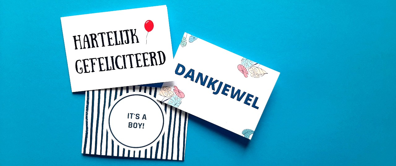 Collectie Wenskaarten Ikstuureenkaartje.nl